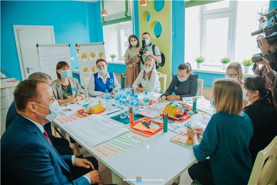 Полпред Президента России в ПФО Игорь Комаров ознакомился с системой инклюзивного образования в Чувашии