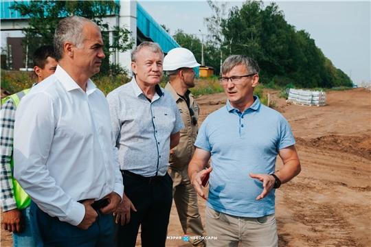 Алексей Ладыков провел выездное совещание на 3 объектах нацпроекта «Жилье и городская среда»