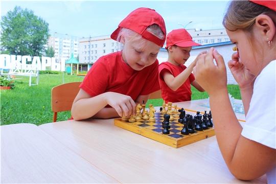 В детских садах Чебоксар проходит шахматный турнир