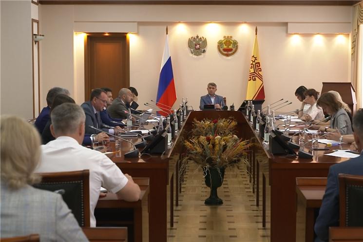 Формирование комфортной городской среды и  состояние гидротехнических сооружений обсудили в Доме Правительства