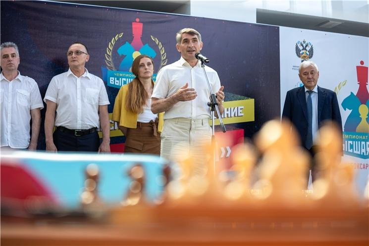 Олег Николаев: Чувашия готова стать надежным партнёром Российской шахматной федерации