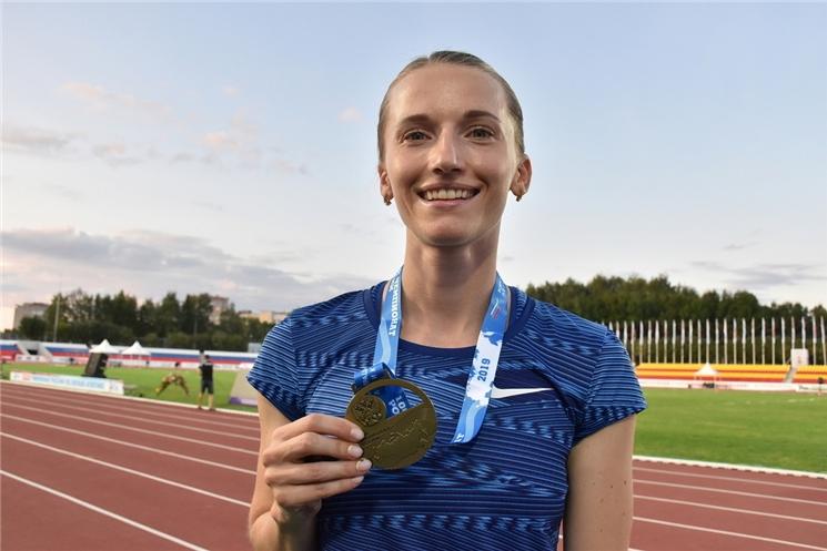 Анжелика Сидорова примет участие  в Олимпийских играх в Токио