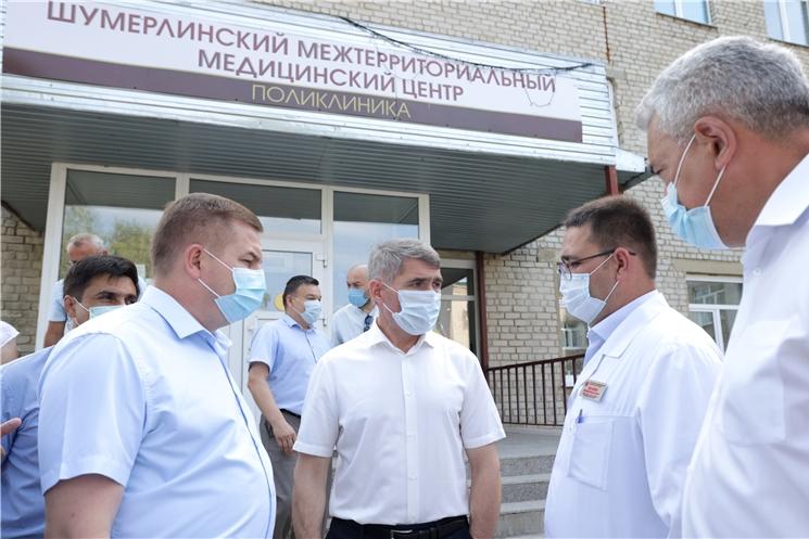 Олег Николаев подверг критике власти Шумерли за недостаточную организацию работы по вакцинации от коронавируса