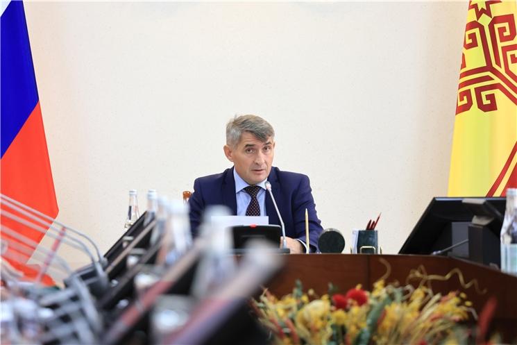 Олег Николаев поручил разобраться с незаконным производством и оборотом алкоголя в Чувашии