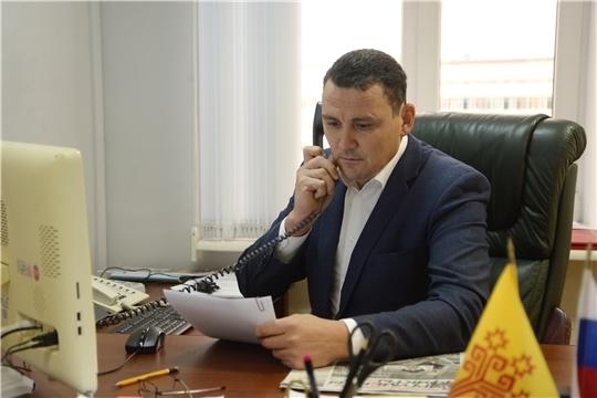 Прием граждан провел Сергей Павлов