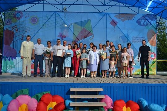 Альбина Егорова поздравила жителей Чебоксарского района с праздником