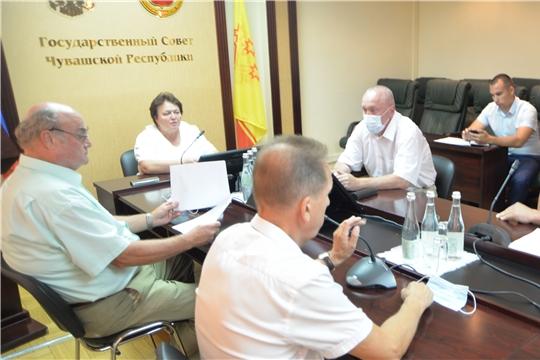 Вопросы организации деятельности Государственного Совета Чувашской Республики обсуждены на рабочем совещании