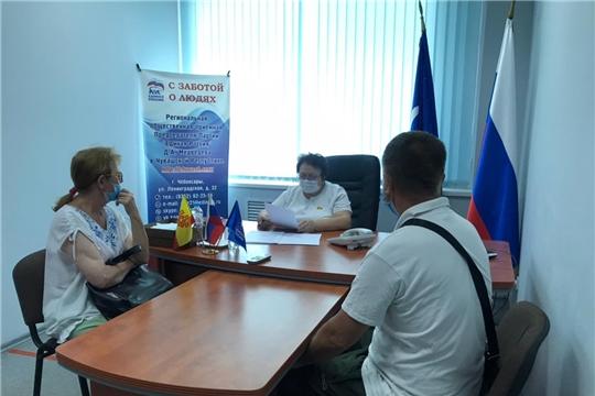 Альбина Егорова провела прием граждан по личным вопросам