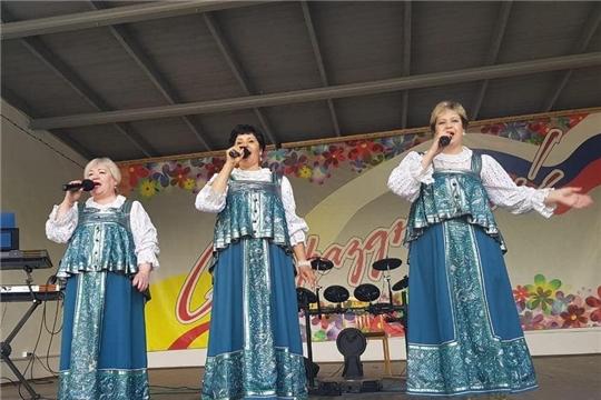 В Шумерле прошла тематическая концертная программа, посвященная Дню России