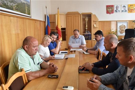 Рабочая группа обсудила варианты организации движения большегрузов по залинейной части города Шумерля