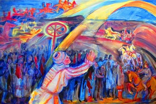 Персональная выставка работ Инны Лялиной в Ибресинском этнографическом музее