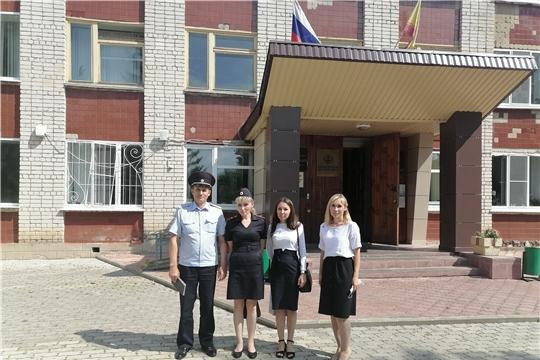 Ибресинский район посетили представители Государственной службы Чувашской Республики по делам юстиции и Министерства внутренних дел по Чувашской Республики