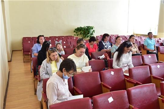 Совещание руководителей образовательных учреждений Ибресинского района по вопросам организации подготовительных работ к приемке образовательных учреждений