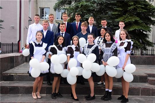 В Ибресинской средней школе №1 прошла торжественная линейка, посвящённая Дню знаний.