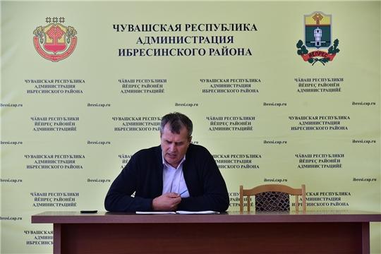 6 сентября 2021 года в Ибресинском районе состоялось заседание Совета по противодействию коррупции