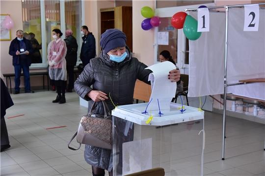 В Ибресинском районе началось голосование по выборам депутатов в Госдуму Российской Федерации и Государственный Совет Чувашской Республики.