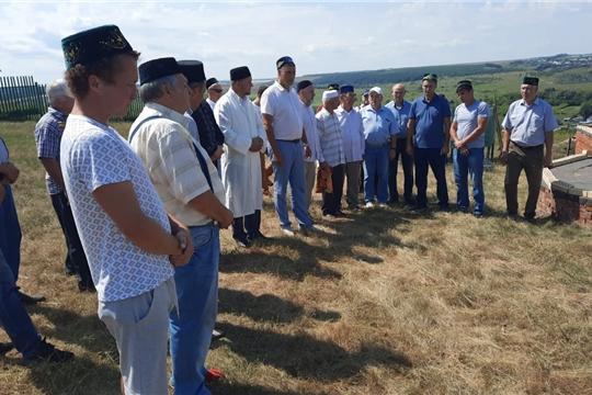 В городе Козловке началось строительство мечети