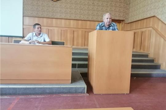 Состоялось заседание Комиссии по обеспечению безопасности дорожного движения в Козловском районе