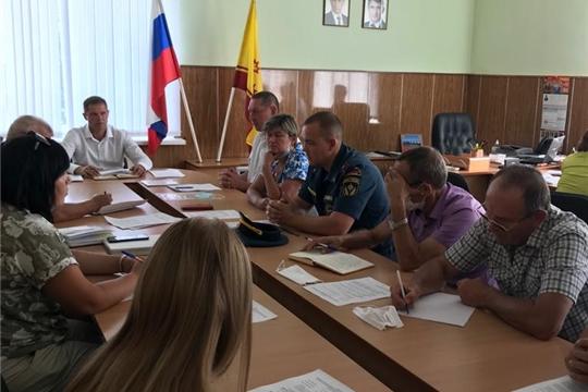 Состоялось заседание Комиссии по предупреждению и ликвидации чрезвычайных ситуаций