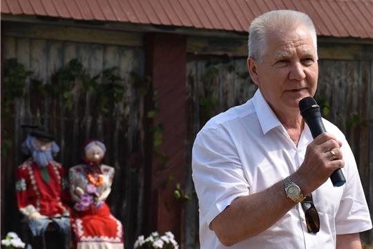 В деревне Кумагалы Исаковского сельского поселения состоялось открытие Стелы