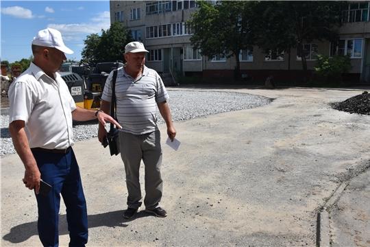 Рабочая поездка главы администрации района Александра Кузнецова
