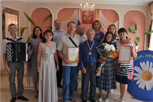 Чествование бриллиантовых юбиляров в Красноармейском районе в День семьи, любви и верности