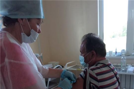 В Красноармейском районе активно проводится вакцинация населения против COVID - 19
