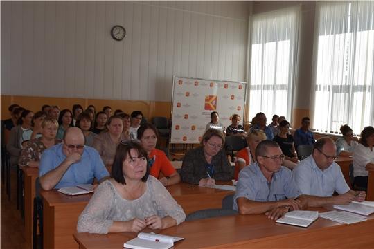Совещание при главе администрации района Александре Кузнецове