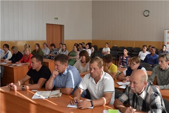 Еженедельное совещание при главе администрации Красноармейского района Александре Кузнецове