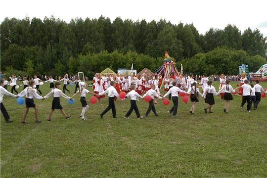 В районах Чувашии отмечают праздник земледелия «Акатуй»