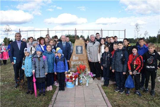 Митинг, посвященный 84-летию со дня рождения Николая Григорьева