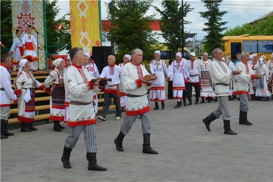 В Мариинско-Посадском районе прошел традиционный чувашский праздник «Акатуй»
