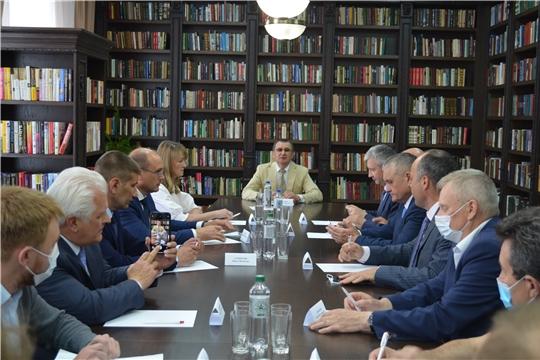 Совещание с сенатором Российской Федерации Николаем Федоровым