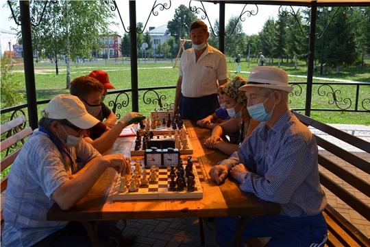 Шахматным турниром отметили Всемирный день шахмат в Мариинско-Посадском районе