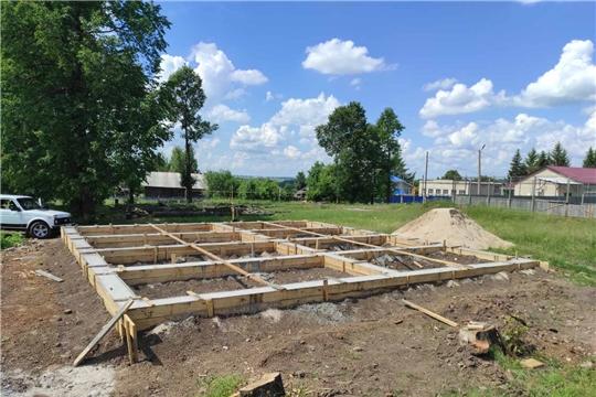 В селе Акрамово Ярабайкасинского сельского поселения строят современный  ФАП