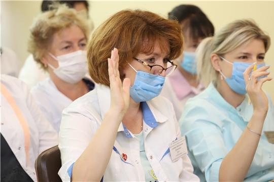 Министр здравоохранения Чуваши Владимир Степанов посетил Ибресинский район