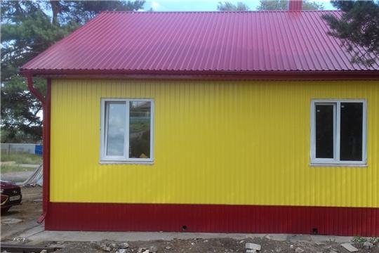 В Шумерлинском районе строят новый фельдшерско-акушерский пункт