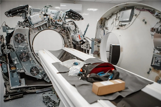 В Алатыре заканчивают установку одного из самых современных компьютерных томографов в Чувашии