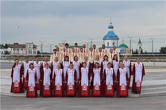 Чувашская симфоническая капелла приняла участие в хоровой акции «За Родину, за Россию»