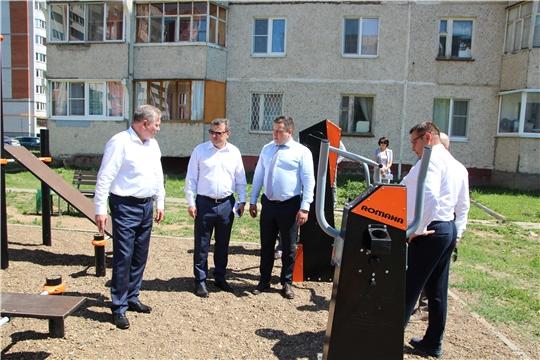 Рабочий визит правительства Чувашии в Новочебоксарск по вопросам развития ЖКХ и городской инфраструктуры (сюжет НКТВ)
