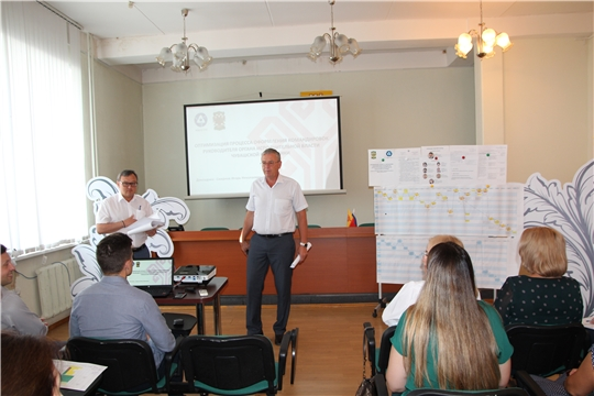 В Минфине Чувашии состоялась защита работ, подготовленных в рамках реализации проекта «Эффективный регион»
