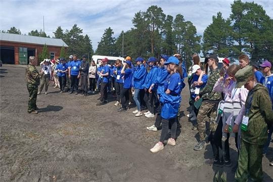 В Чебоксарском лесничестве прошли мастер-классы по посадке деревьев под меч Колесова и по тушению лесных пожаров