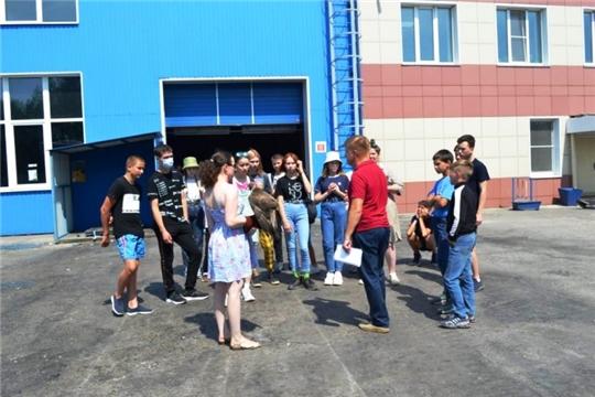 Школьники посетили Новочебоксарское предприятие по переработке ТКО