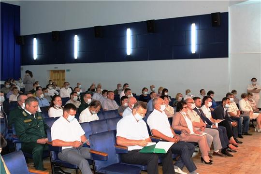 В Ибресинском районе обсуждены вопросы лесной отрасли Чувашской Республики