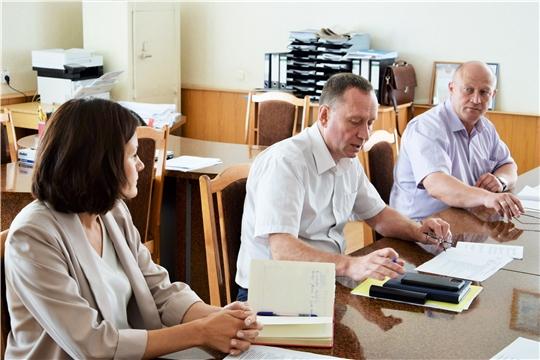 Руководитель Минприроды Чувашии Эмир Бедертдинов с рабочим визитом посетил Вурнарский район