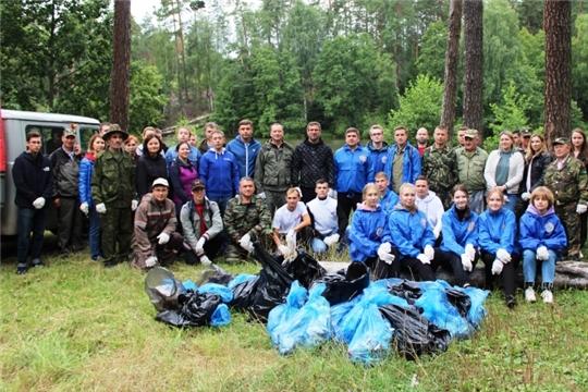Чувашская Республика присоединилась к Всероссийскому экологическому марафону «Дни зеленых действий»
