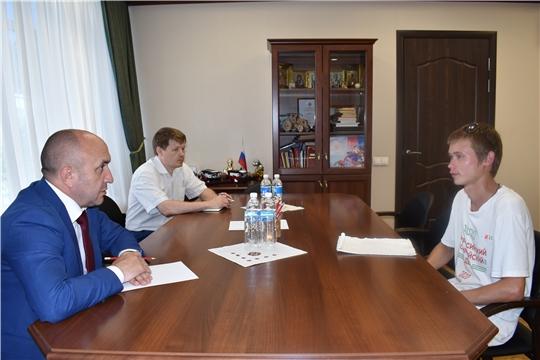 На приеме у министра говорили о проектах инициативного бюджетирования и земельных паях