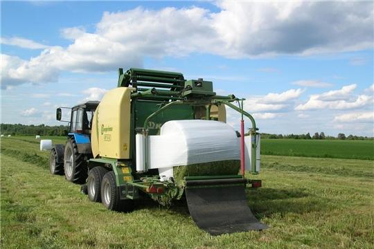 На темпы заготовки кормов существенное влияние оказали погодные условия