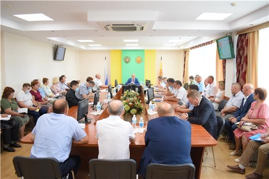 В Минсельхозе Чувашии состоялось заседание Правительственной чрезвычайной противоэпизоотической комиссии