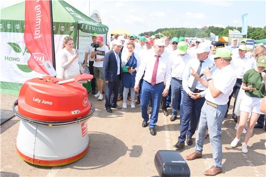 В Чувашии проходит ежегодная выставка достижений агропромышленного комплекса